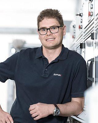 Fertigungsleiter Sondermaschinenbau Tobias Blab